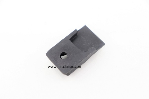 Rubber end piece folding roof middle Fiat 126 - Fiat 500