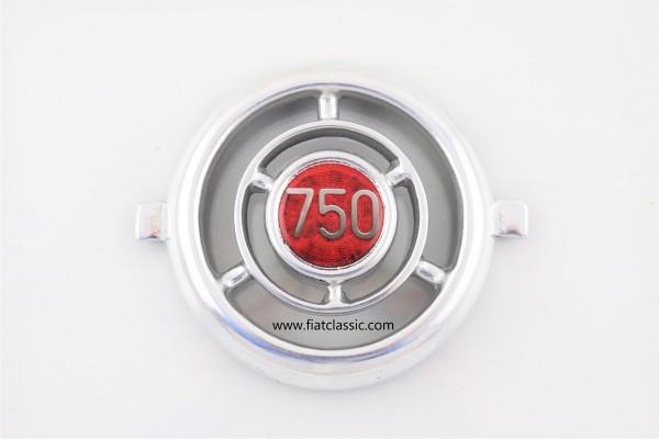 Frontemblem 750 Aluminium Fiat 600