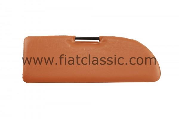 Sun visor ochre Fiat 500 - Fiat 600