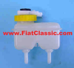 Dubbelcircuit remvloeistofreservoir met sensor Fiat 126 (2e serie)