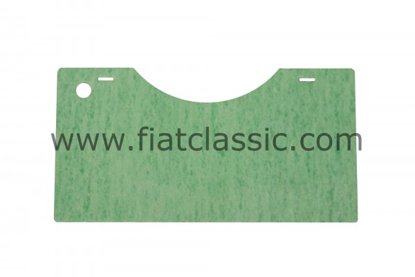 Insulation plate for engine flap Fiat 500