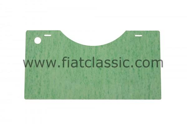 Plaque isolante pour volet moteur Fiat 500