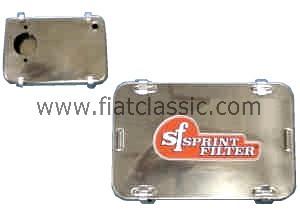 Filtro aria sportivo IMB 24 + 28 cromato Fiat 126 - Fiat 500