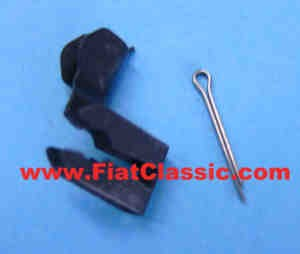 Split pin (1mm) and shaft lock (2,5mm) Fiat 600