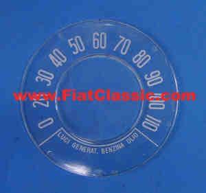 Snelheidsmeter glas 110 km/u Fiat 500 N/D/Giardiniera