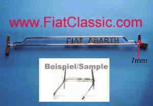Parallelle ruitenwisserset ABARTH Fiat 500 voorruit ABARTH Fiat 500
