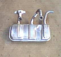 Auspuffanlage Fiat 126 (BIS)
