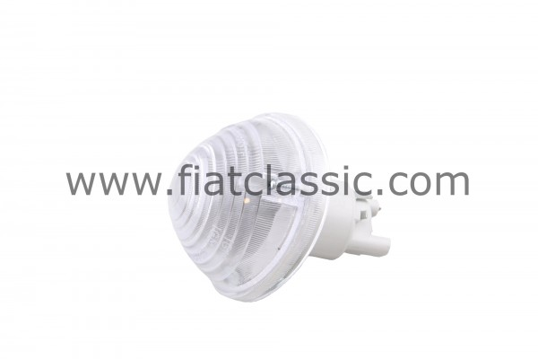 Front turn signal white Fiat 500 - Fiat 600
