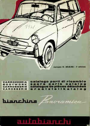 Body Panoramica Fiat 500 Bianchina