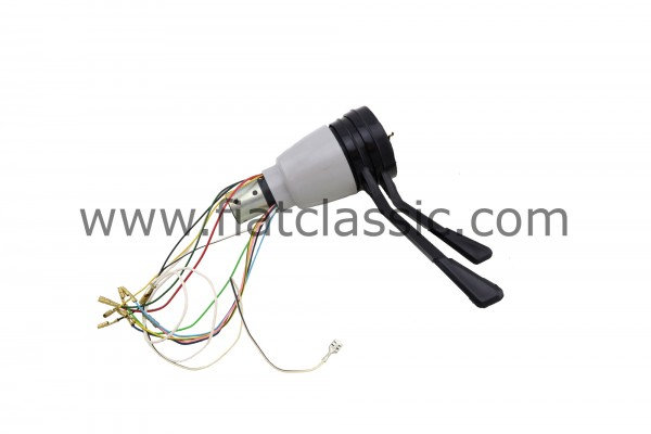 Steering column switch 3 positions grey Fiat 500