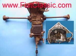 Synchronized gearbox NOS Fiat 126 - Fiat 500 R