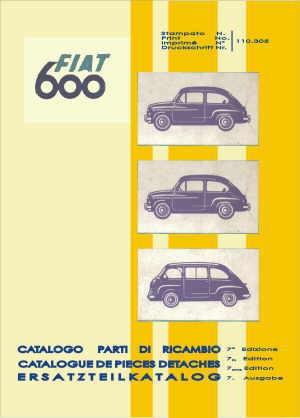 Onderdelen boektechnologie (700 pagina's) Fiat 600/850/1000, Fiat 600 Multipla, Fiat 600, Zastava 750