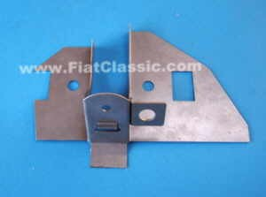 Plaque de support triangle avant gauche Fiat 126