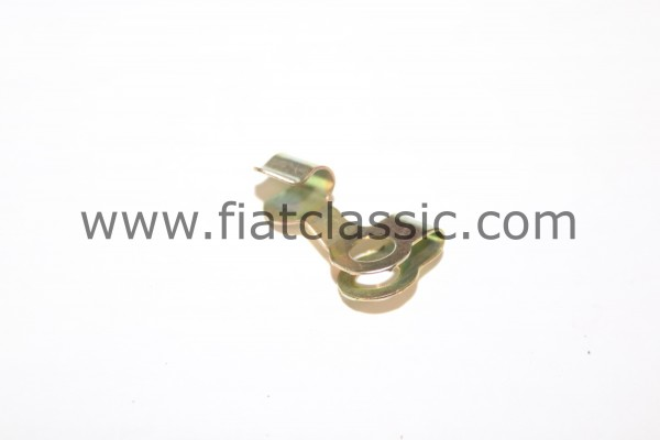 Spring clamp for gas rod right Fiat 126 - Fiat 500 - Fiat 600