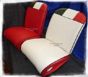 Sitzbezüge Fiat Jubiläum Fiat 500 (nicht Bianchina)