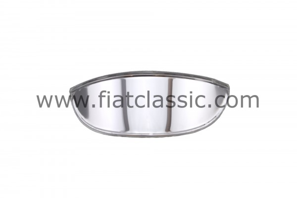 Chromed lampshade for headlights Fiat 500 - Fiat 600