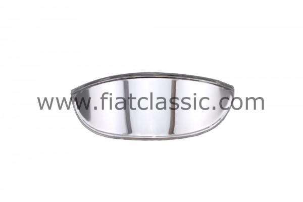 Abat-jour chromé pour phares Fiat 500 - Fiat 600