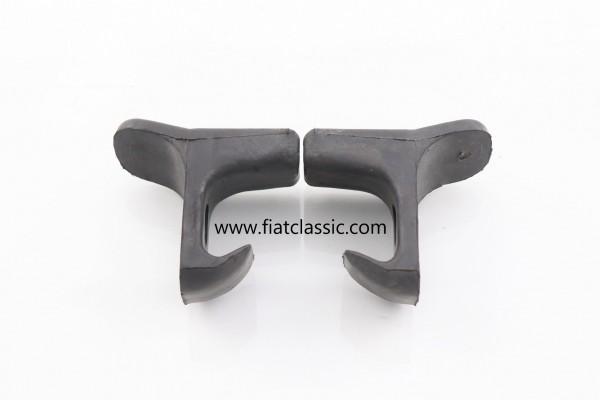 Gummianschlag für Rücksitz (Paar) Fiat 600 Multipla