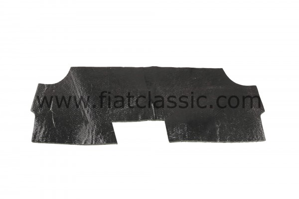 Mat for rear seat bottom Fiat 500 (not Bianchina)