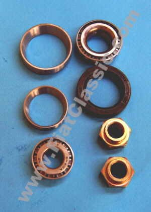 Front wheel bearing set top quality Fiat 126 1st series - Fiat 500