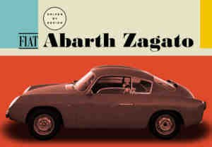 Front windscreen ABARTH 750 Zagato Fiat 600