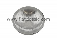 Reflector insert with parking light 13.5cm CARELLO Fiat 500 N/D/G/Bianchina - Fiat 600