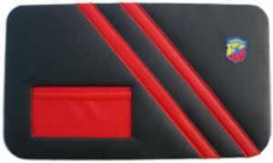 Panneau de porte noir ABARTH Fiat 500 F/L/R