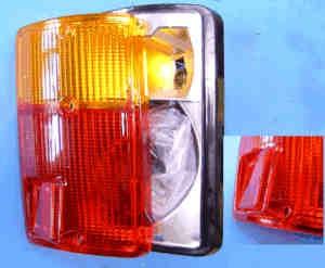 Achterlicht rechts Fiat 126 (1ste en 2de serie)