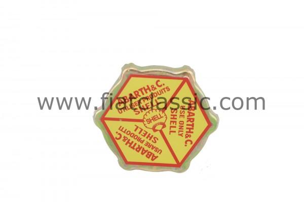 Tappo olio ABARTH Shell Fiat 126 - Fiat 500