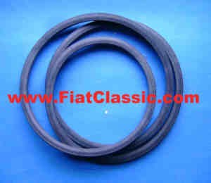 Rubber seal for engine flap Fiat 500 Giardiniera