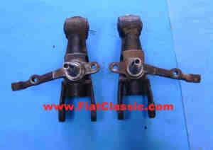 Pair of steering knuckles overhauled in exchange Fiat 126 (1st series) - Fiat 500