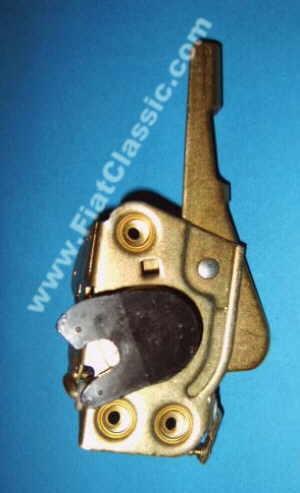 Door lock mechanism right Fiat 126