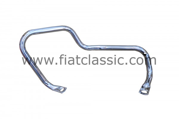 Chrome frame 'luxury' rear right top quality (45 micron) Fiat 500