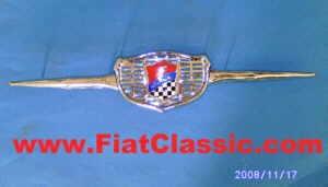 Emblema frontale GIANNINI Fiat 500 (non Bianchina)