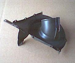 Ventilatorkast halve inlaatzijde Fiat 126 - Fiat 500