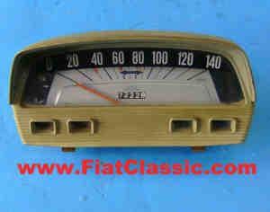 Compteur de vitesse gris (occasion) Fiat 500 L
