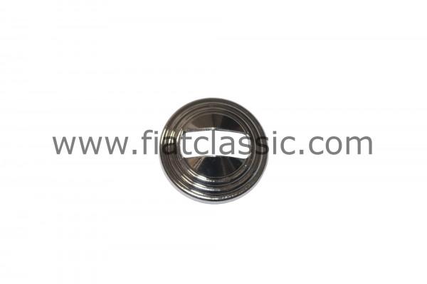 Rozetdeuraandrijving chroom (met sleuf) Fiat 126 - Fiat 500