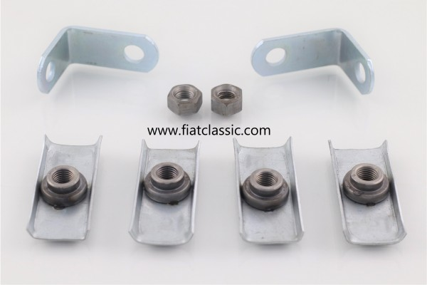 Mounting kit for safety belt Fiat 500 - Fiat 126 (1st series) - Fiat 600