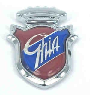 Emblem Ghia Fiat 500 - Fiat 600