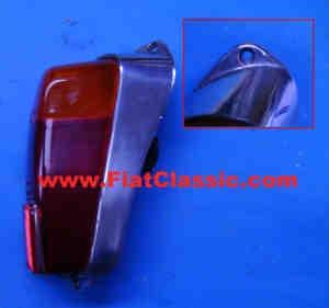 Schlussleuchte Aluminium rechts Fiat 500 N/D/F - Fiat 600
