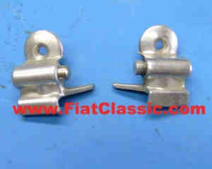 Sliding window lock (pair) Fiat 500 Giardiniera