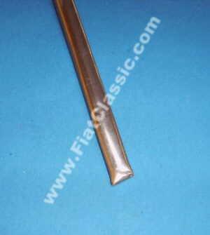 Finitura davanzale (set) in acciaio inox lucido 124 cm Fiat 600