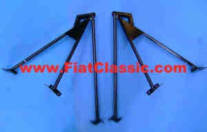 Pair of bonnet stands ABARTH Fiat 500