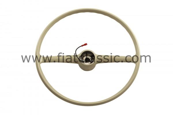 Steering wheel grey Fiat 500