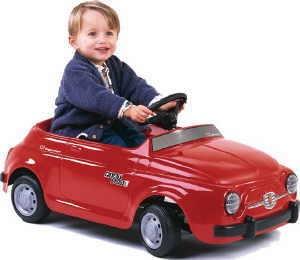 Bobbycar Fiat 500