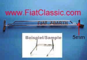 Parallelle ruitenwisserset ABARTH Fiat 600 voorruit