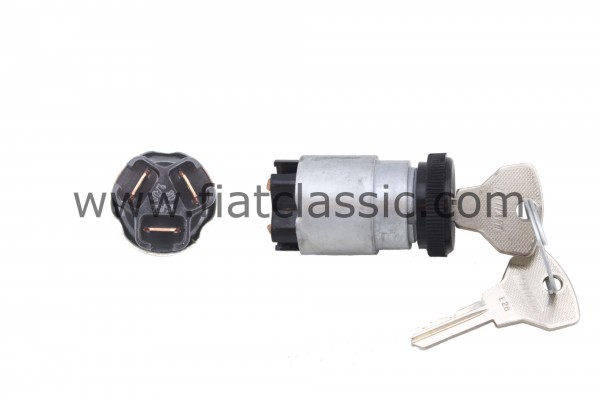 Ignition lock with black ring Fiat 500 - Fiat 600