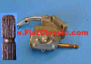 Steering gear in exchange until 1958 left-hand drive Fiat 600