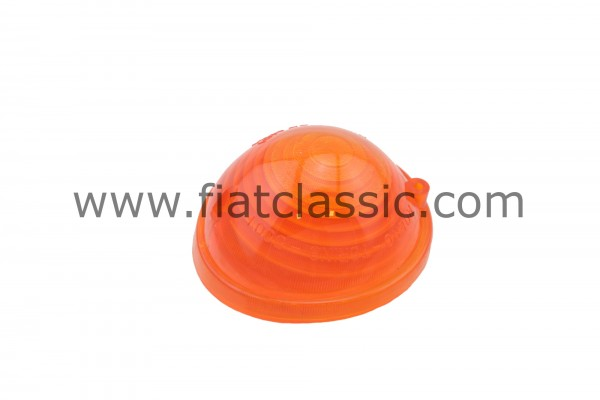 Turn signal lens front yellow Fiat 500 - Fiat 600