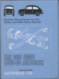Workshop manual 55-69 Fiat 600